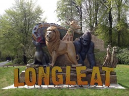Longleat Entrance Letters - Longleat Safari Park 3D sign - The Grain - Theme Park Signage