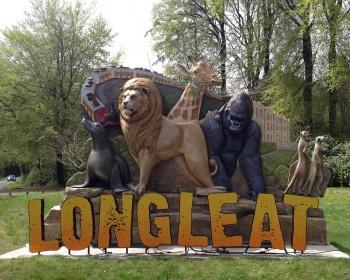 Longleat Entrance Letters - Longleat Safari Park 3D sign - The Grain - Theme Park Signage