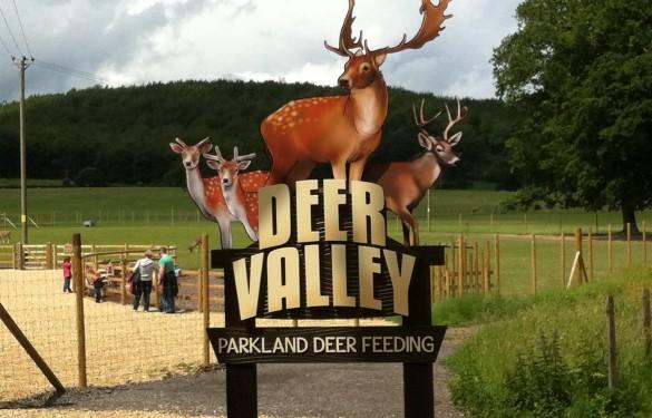 Longleat Safari Park 3D sign - Deer Park - The Grain - Theme Park Signage