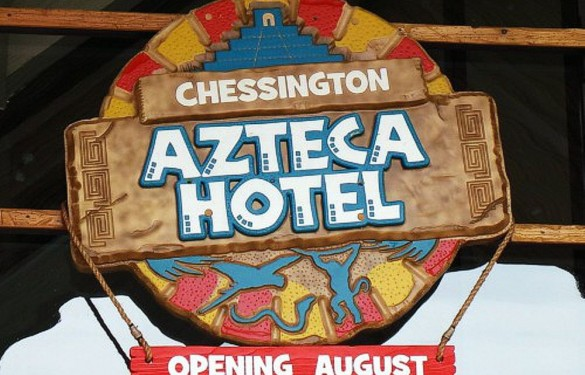 Chessington World of Adventures - azteca hotel
