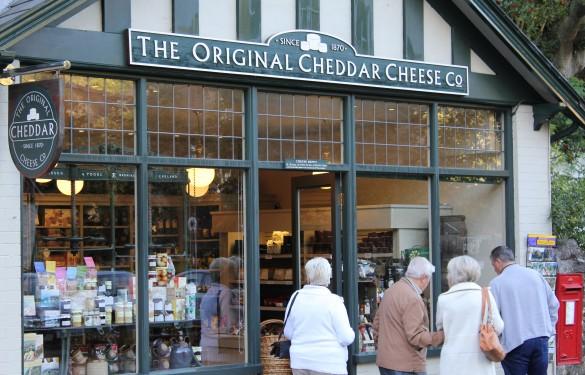 Cheddar Cheese co - Cheddar Gorge - Shop Fascia Sign