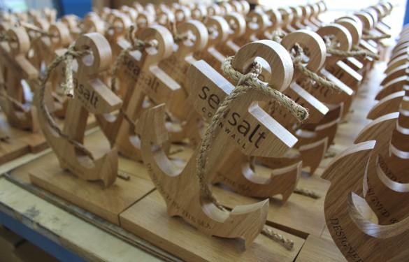 seasalt wooden anchor 2 - wooden pos - The grain - Wooden display