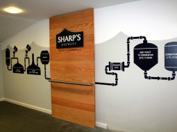 laser cut wall signs for