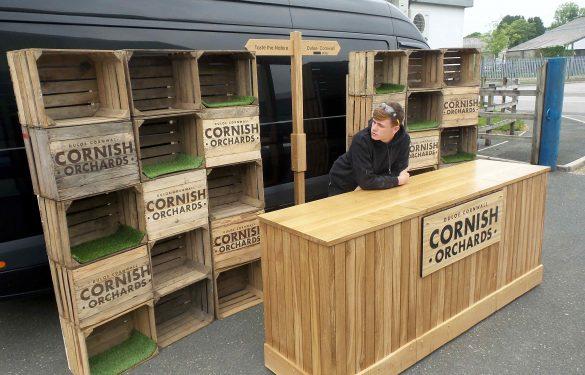 Cornish Orchards Portable Bar